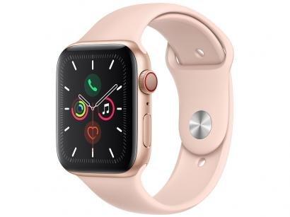 Apple Watch Series 5 44mm GPS Integrado Wi-Fi - Pulseira Esportiva 32GB