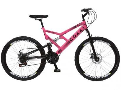 Bicicleta Aro 26 Mountain Bike Colli GPS - Freio a Disco 21 Marchas