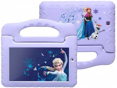 """Tablet Infantil Multilaser Frozen Plus com Capa  - 16GB 7"""" Wi-Fi Android 8.1 Quad Core Câm. 2MP"""