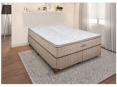 Cama Box Queen Size (Box + Colchão) Ortobom - Mola 30cm de Altura Ortotech