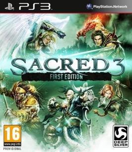JOGO PS3 SACRED 3 - Square Enix