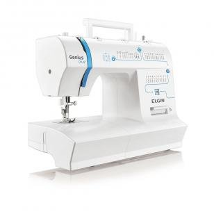 Máquina de Costura Portátil Genius Plus JX-4035 - Elgin - 220V - Elgin