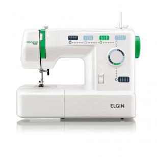 Máquina de Costura Portátil Decora Mais JX-2011 - Elgin - 220v - Elgin