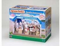 4190 sylvanian families  restaurante na praia - Epoch