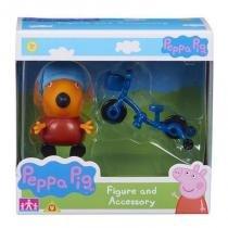 4199 peppa pig raposo freddy com bicicleta - Dtc