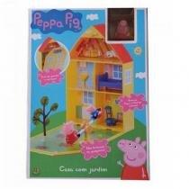 4206 peppa pig casa com jardim da peppa - Dtc