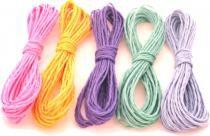 5 Pacotes com 10 cordas para varal de nylon com 10 metros de comprimento cada (Total 50 cordas) - Produto nacional