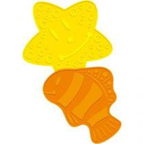 6 Tapetes infantil para Banho - Dican