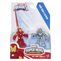 A7109 marvel  super hero - homem de ferro e ultron - Playskool