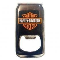 Abridor De Garrafa Com Imã Harley Davidson - Versare Anos Dourados