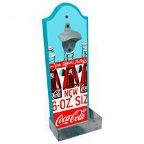 Abridor De Garrafa De Parede Style Coca Cola Retrô - Versare anos dourados