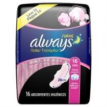 Absorvente Always Noite Tranquilas Seca C/abas Lv16 Pg14 -