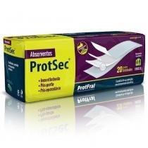 Absorvente geriatrico protsec 14 pct. c/20 cxf - Protfral