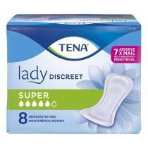 Absorvente geriatrico tena lady super c/8 -