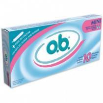 Absorvente interno O.B. mini 10 unidades - Ob