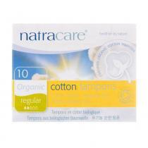 Absorvente Interno Orgânico Cotton Tampons Regular com 10 Unidades - Natracare -