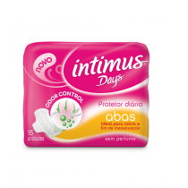 Absorvente intimus days com abas 15 unidades -