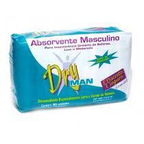 Absorvente masculino dryman - 10 unidades - Padrao clb macedo