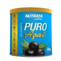 Açaí liofilizado PURO AÇAÍ - Nutrata Suplementos - 100g -