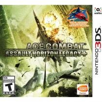 Ace combat: assault horizon legacy + - 3ds - Nintendo