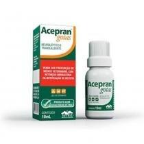 Acepran Gotas Tranquilizante Para Cães E Gatos Vetnil - 10 mL -