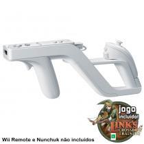 Acessório Nintendo Wii - Wii Zapper + Jogo Links Crossbow Training - Nintendo