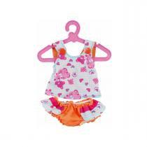 Acessórios Baby Alive Sortidos - Blusa e Calcinha Laranja - Cotiplás