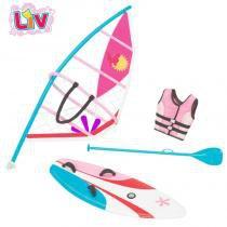 Acessórios Boneca LIV - Playset de Verão - Windsurf - Long Jump - Long Jump
