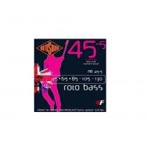 ACESSORIOS ENCORDOAMENTO BAIXO ROTOSOUND RB45-5 (ROTO BOSS) 5 CORDAS 45-130 - ROTOSOUND