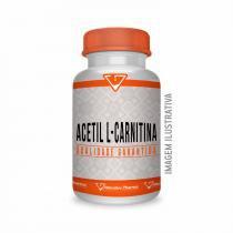 Acetil L Carnitina 500mg 120 Cápsulas - Alterative pharma
