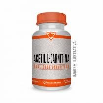 Acetil L Carnitina 500mg 60 Cápsulas - Alterative pharma