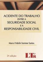 Acidente do trabalho entre a seguridade social - Ltr
