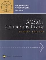 Acsms certification review - 2nd ed - Lws - lippincott wilians  wilkins sd