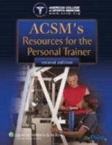 Acsms resources for the personal trainer - Lww - lippincott wilians  wilkins