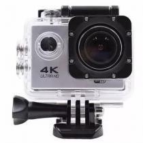 Action Camera Go Sport Pro Wi-fi Lcd 4k Prova Dagua Original Prata - Bk imports