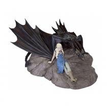Action Figure Daenerys e Drogon (Statuette) Game of Thrones - Dark Horse -