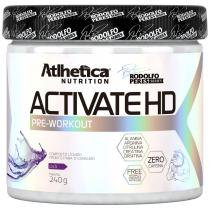 Activate Hd Pré Workout - Pure Series - 240G - Atlhetica - Atlhetica