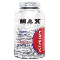 Active Man - 60 Cápsulas - Max Titanium -