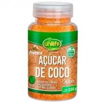 Açúcar de Coco Orgânico 150g Unilife - Unilife