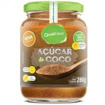 Açúcar de Coco Pote 280g Qualicôco -
