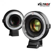 Adaptador de Montagem Viltrox EF- E mount Auto-Focus AF para Lente Canon EF em Câmeras Sony E-Mount -