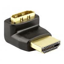 Adaptador L - HDMI Macho para Fêmea - UNICO - Outras