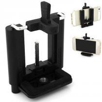 Adaptador para Celular Montagem em Tripé Monopé ou Bastão - LW105 - Leadwin