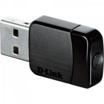 Adaptador Wireless USB DWA-171 Preto D-LINK -