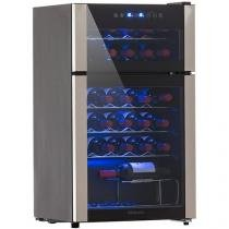 Adega Climatizada Easy Cooler 29 Garrafas HS-114WE - com Compressor 2 Portas