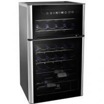 Adega Climatizada Electrolux 29 Garrafas ACD29 - com Compressor 2 Portas Painel Touch