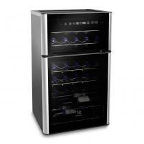 Adega de Vinhos ACD29 para 29 Garrafas 2 Portas - Electrolux - 127V - Electrolux