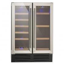 Adega de vinhos e frigobar 2 portas built in -220V prime cooking Cuisinart -