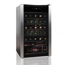 Adega de Vinhos Easy Cooler 127v Inox com Compressor para 34 Garrafas e Controle Digital - Easy Cooler