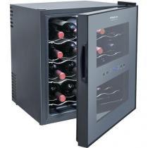 Adega de Vinhos Philco PH16E PR com Porta Espelhada e Controle Digital de Temperatura para 16 Garraf - Philco